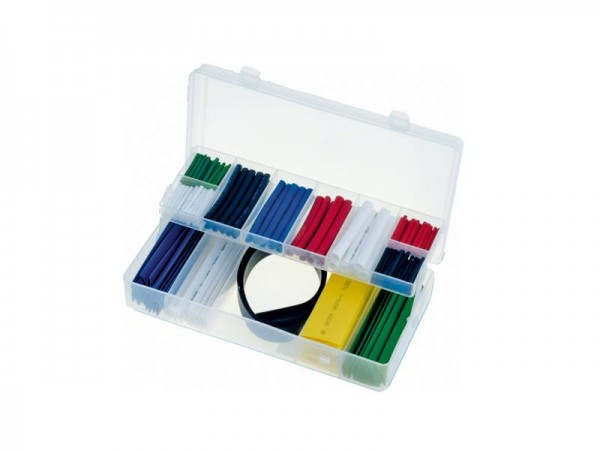 Schrumpfschlauch-Sortiment, 171 tlg., farbig, Ø 2-18 mm