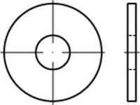 DIN 9021/ISO 7093 Scheibe gr. Aussendurchmesser Edelstahl A2