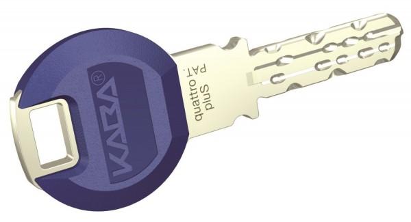 Kaba Mehrschlüssel für Zylinder quattro pluS