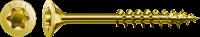 SPAX Universalschraube 4x60, Senkkopf, Teilgewinde, YELLOX T-STAR plus 4 x 60 mm 500 Stück